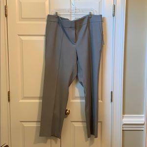 Loft Julie straight grey pants